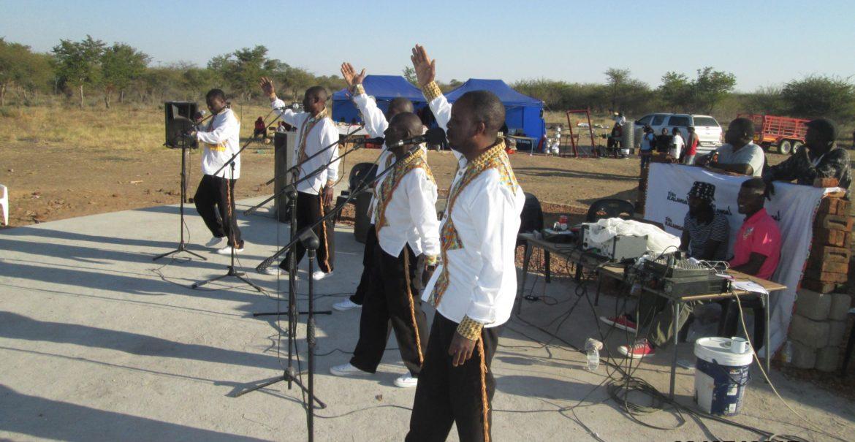 Black Umfolosi performing at the TiBaKalanga Festival