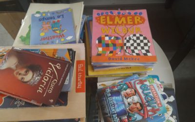 Fantastic first response to our Pack a Box of Books Campaign