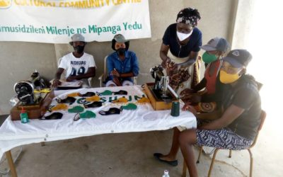 The TGSCCC Women's Empowerment Project Roars Back to Life (Mask Making Workshop)